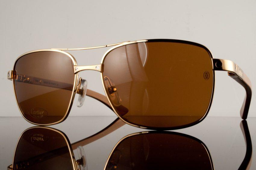 0e8746d35b2 Cartier Santos Dumont Sunglasses from the Santos de Cartier Collection